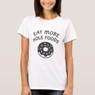 Camiseta Coma más comidas del agujero