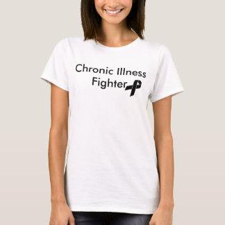 Camiseta Combatiente crónico de la enfermedad