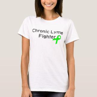 Camiseta Combatiente crónico de Lyme