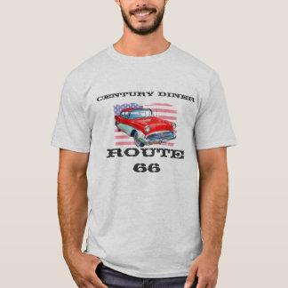 Camiseta COMENSAL del SIGLO, ruta 66