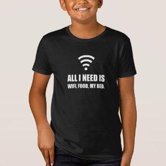 Camiseta Comida de Wifi mi cama