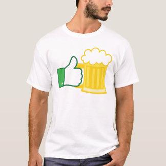 Camiseta Como la cerveza