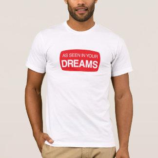 Camiseta Como se ve en sus sueños