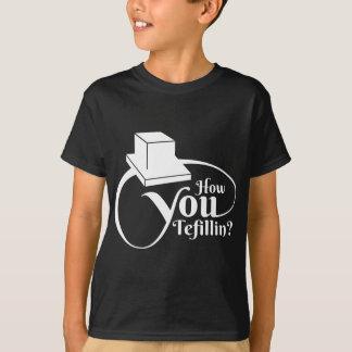 Camiseta Cómo usted Tefillin - blanco