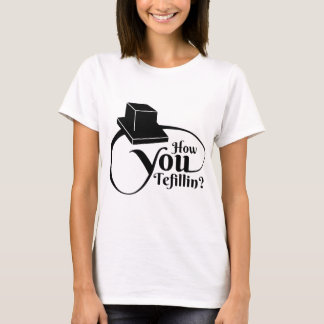 Camiseta Cómo usted Tefillin - negro