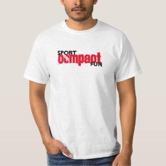 Camiseta Comp compactos de la diversión del deporte