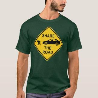 Camiseta Comparta la señal de tráfico