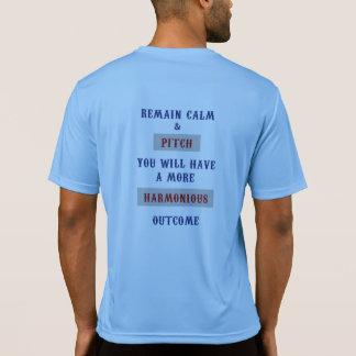 Camiseta Competidor T del Deporte-Tek de las herraduras
