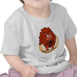 Camiseta completa del bebé de Nutter