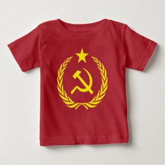 Camiseta comunista del jersey de la multa del bebé
