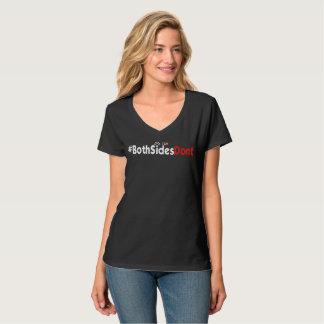 Camiseta con cuello de pico nana de Hanes de las