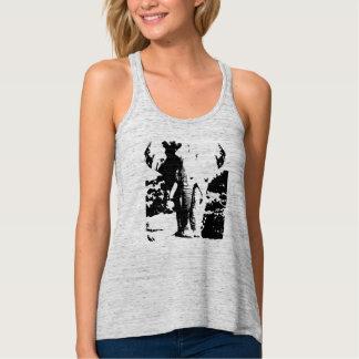 Camiseta con el elefante blanco y negro de la