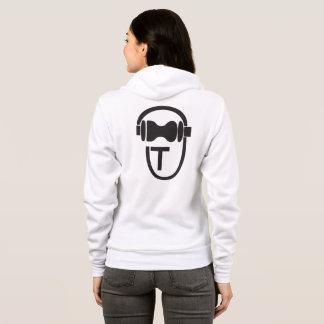Camiseta con el logotipo de TEnsko - trasero - luz