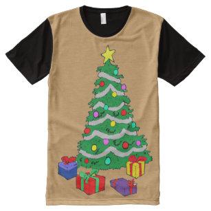 Como Decorar Una Camiseta De Navidad.Camisetas Arbol Navidad Y Presentes Zazzle Es