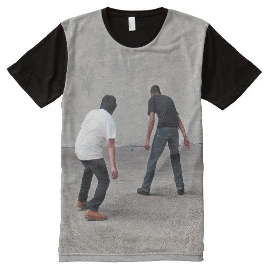 Camiseta Con Estampado Integral Balonmano