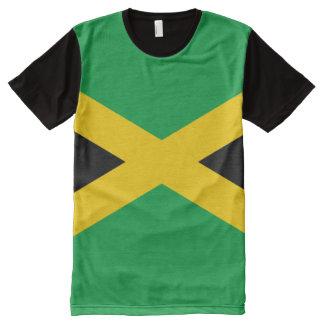 Camiseta Con Estampado Integral Bandera jamaicana