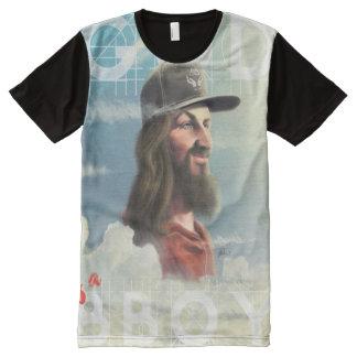 Camiseta Con Estampado Integral Bboy sky