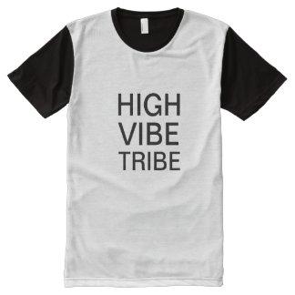 Camiseta Con Estampado Integral Camisa de la tribu del ambiente de la terapia de