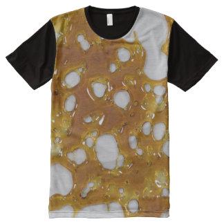 Camiseta Con Estampado Integral Camisa del fragmento