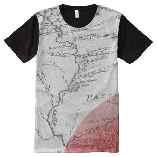 Camiseta Con Estampado Integral Camisa poderosa de MIffiffippi