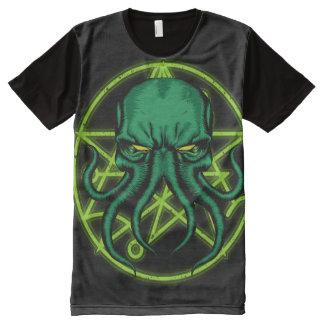 Camiseta Con Estampado Integral Cthulhu