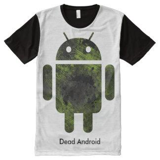 Camiseta Con Estampado Integral Dead Android