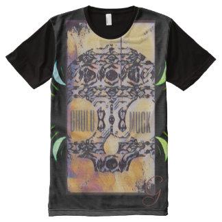 Camiseta Con Estampado Integral Diseño de GhuluMuck