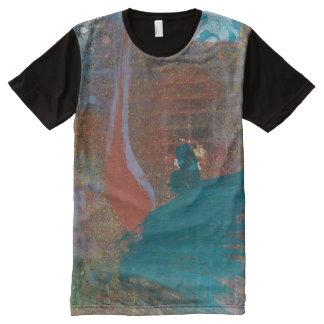 Camiseta Con Estampado Integral Extensión