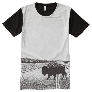 Camiseta Con Estampado Integral Gama libre