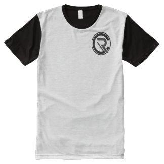 Camiseta Con Estampado Integral Hombres del CRC negros/camiseta gris