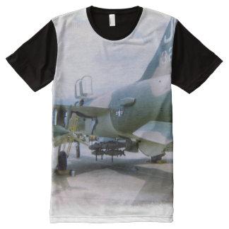 Camiseta Con Estampado Integral Korat AFB Tailandia 1968 F-105