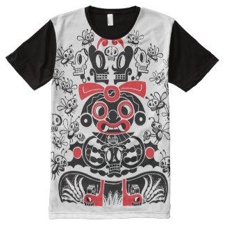 Camiseta Con Estampado Integral La diosa de Pulque