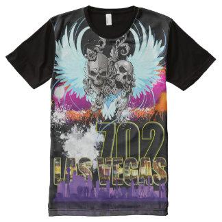 Camiseta Con Estampado Integral Las Vegas llevado batalla 702