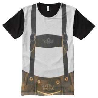 Camiseta Con Estampado Integral Lederhosen del alemán de Oktoberfest
