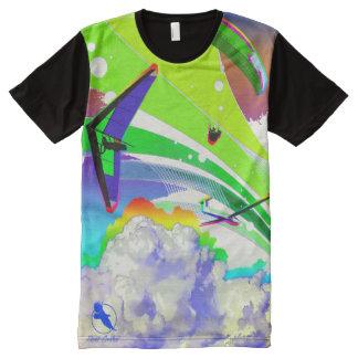 Camiseta Con Estampado Integral LIBERE la MOSCA FF-09 PontoCentral