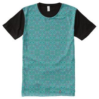 Camiseta Con Estampado Integral Menta puesta a tierra