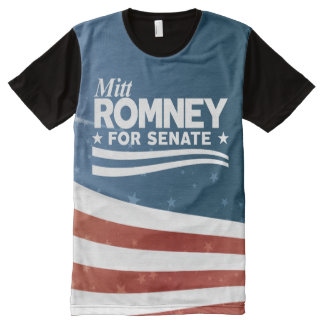 Camiseta Con Estampado Integral Mitt Romney 2018