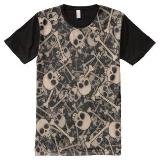 Camiseta Con Estampado Integral Skeletons