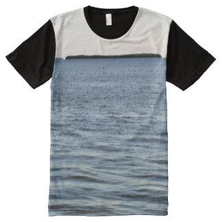 Camiseta Con Estampado Integral The Edge de los marismas