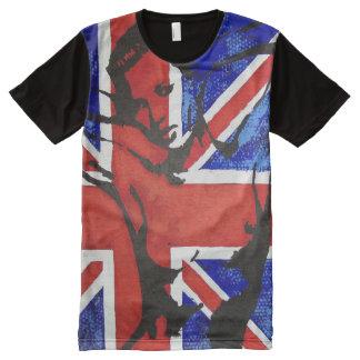 Camiseta Con Estampado Integral Union Jack II
