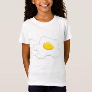 camiseta con Huevo frito, ideal para  niños.