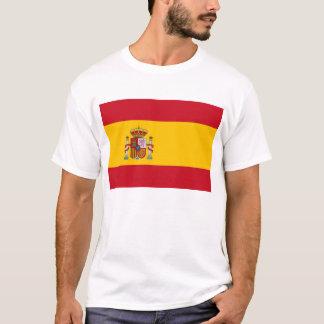 Camiseta con la bandera de España