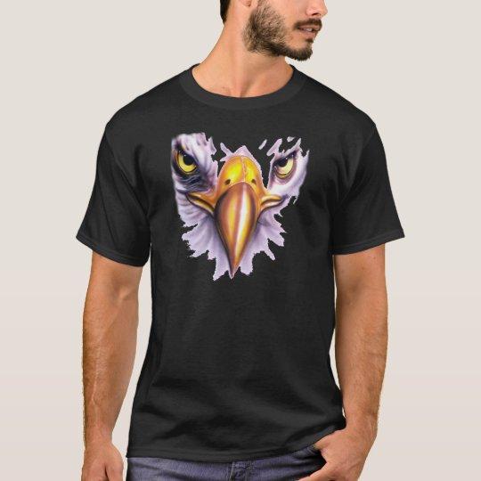 Camiseta con la cara del águila americana - M1