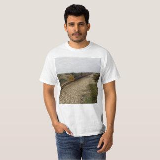 Camiseta con la imagen diesel del tren