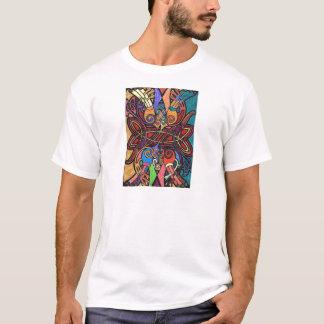 Camiseta con la impresión céltica