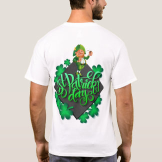 Camiseta con los días de los ´s de St Patrick
