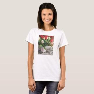Camiseta con los tulipanes