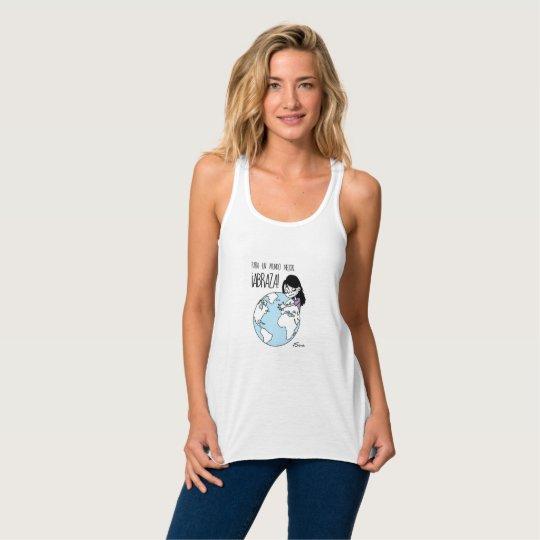 Camiseta Con Tirantes Abraza, by Jesús Guzmán