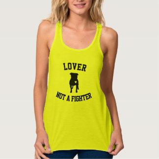 Camiseta Con Tirantes Amante no un combatiente