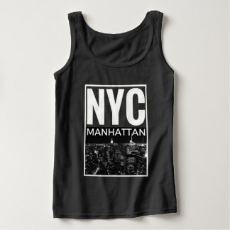 Camiseta Con Tirantes Amo horizonte de NYC Nueva York Manhattan